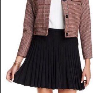 DVF Diane Von Furstenberg Mara Pleated Skirt M